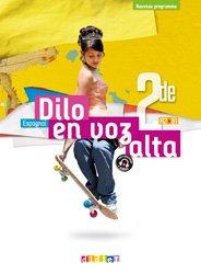 Dernières parutions dans Dilo En Voz Alta, Dilo En Voz Alta 2de - Livre