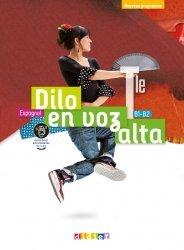 Dernières parutions sur Méthodes de langue (scolaire), Dilo en voz alta Tle (éd.2020) - Livre