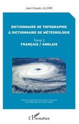 Dernières parutions sur Météorologie - Climatologie, Dictionnaire de topographie et dictionnaire de météorologie