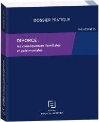 Dernières parutions sur Droit des régimes matrimoniaux, Divorce