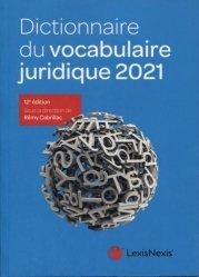 Dernières parutions sur Lexiques et dictionnaires, Dictionnaire du vocabulaire juridique