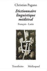 Dernières parutions sur Dictionnaires, Dictionnaire Linguistique Médiéval