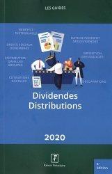 Dernières parutions sur Droit fiscal, Dividendes - Distributions