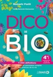 Dernières parutions sur Sciences de la Vie, Dico de bio