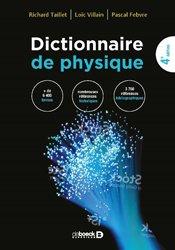 Dernières parutions sur Dictionnaires et cours fondamentaux, Dictionnaire de Physique