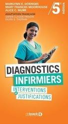 Dernières parutions sur Infirmières, Diagnostics infirmiers