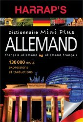 Dernières parutions sur Dictionnaires, DICTIONNAIRE MINI PLUS ALLEMAND