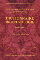 Souvent acheté avec Les vertiges, le Dictionnaire de neurologie français-anglais