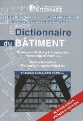 Souvent acheté avec CAP Proelec, le Dictionnaire du bâtiment français-anglais-polonais
