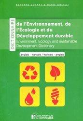 Souvent acheté avec Energie, le Dictionnaire de l'environnement, de l'Écologie et du développement durable