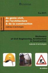 Dernières parutions sur Conduite de chantier, Dictionnaire du génie civil, de l'architecture & de la construction