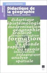 Dernières parutions dans Didact Géographie, Didactique de la géographie Enjeux, résistances, innovations