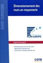 Dernières parutions dans Guide Eurocode, Dimensionnement des murs en maçonnerie