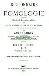 Dernières parutions sur Fruits, Dictionnaire de pomologie Tome 2