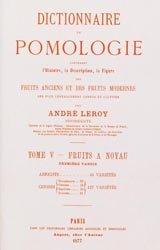 Dernières parutions sur Fruits, Dictionnaire de pomologie