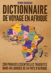 Dernières parutions sur Afrique, Dictionnaire de voyage en Afrique