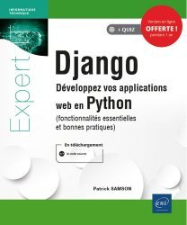 Dernières parutions sur Langages, Django. Développez vos applications web en Python (fonctionnalités essentielles et bonnes pratiques)