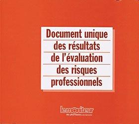 Souvent acheté avec La préparation en un tour de main, le Document unique des résultats de l'évaluation des risques professionnels