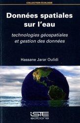 Dernières parutions sur Géologie, Données spatiales sur l'eau