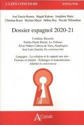 Dernières parutions sur CAPES, Dossier espagnol 2020-2021