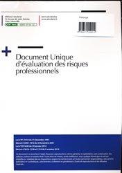 Dernières parutions sur Hygiène - Sécurité, Document unique métier : Plasturgie - Version 2016