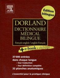 Souvent acheté avec Biologie humaine, le Dorland dictionnaire médical bilingue