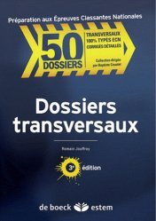 Souvent acheté avec Dossiers indifférenciés, le Dossiers transversaux