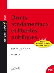 Dernières parutions dans Les Fondamentaux, Droits fondamentaux et libertés publiques. 6e édition
