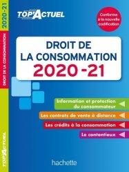 Dernières parutions sur Concurrence et consommation, Droit de la consommation. Edition 2020-2021