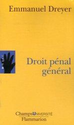 Dernières parutions dans Champs université, Droit pénal général