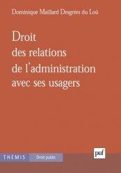 Dernières parutions dans Thémis - Droit public, Droit des relations de l'administration avec ses usagers