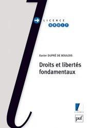 Dernières parutions dans Licence droit, Droits et libertés fondamentaux