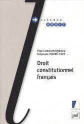 Dernières parutions dans Licence droit, Droit constitutionnel français