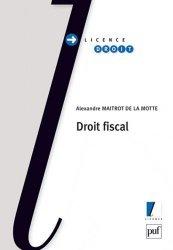 Dernières parutions dans Licence droit, Droit fiscal