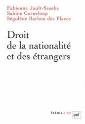 Dernières parutions dans Thémis, Droit de la nationalité et des étrangers