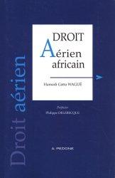 Dernières parutions sur Droit des transports, Droit aérien africain