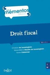 Dernières parutions dans Mémentos Dalloz. Série Droit public, Droit fiscal . 15e édition