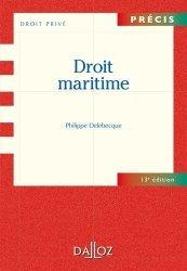 Dernières parutions dans Précis, Droit maritime