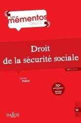 Souvent acheté avec Sécurité sociale, le Droit de la sécurité sociale