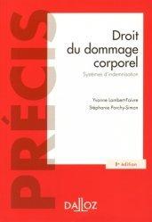 Dernières parutions dans Précis, Droit du dommage corporel