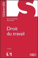 Dernières parutions dans Université, Droit du travail. 4e édition
