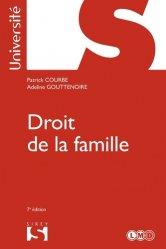 Dernières parutions dans Sirey Université, Droit de la famille. 7e édition