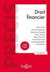Dernières parutions dans Précis Dalloz, Droit financier. 3e édition