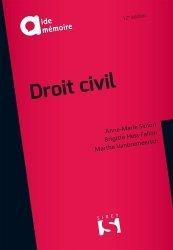 Dernières parutions sur Introduction au droit civil, Droit civil. 12e édition
