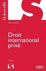 Dernières parutions dans Sirey Université, Droit international privé. 4e édition