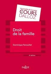 Dernières parutions sur Famille, Droit de la famille. 4e édition