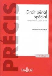 Dernières parutions sur Droit pénal spécial, Droit pénal spécial. Infractions du Code pénal, Edition 2018