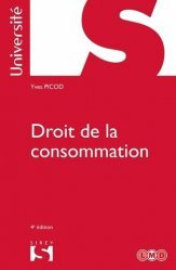 Dernières parutions dans Sirey Université, Droit de la consommation. 4e édition