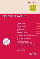 Dernières parutions sur Famille, Droit de la famille. Edition 2020-2021