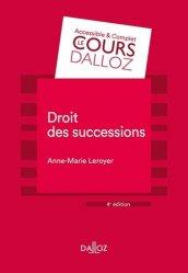 Dernières parutions sur Successions et libéralités, Droit des successions. 4e édition